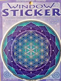 Raamsticker Flower of Life