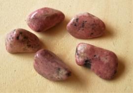Rhodochrosiet trommelstenen