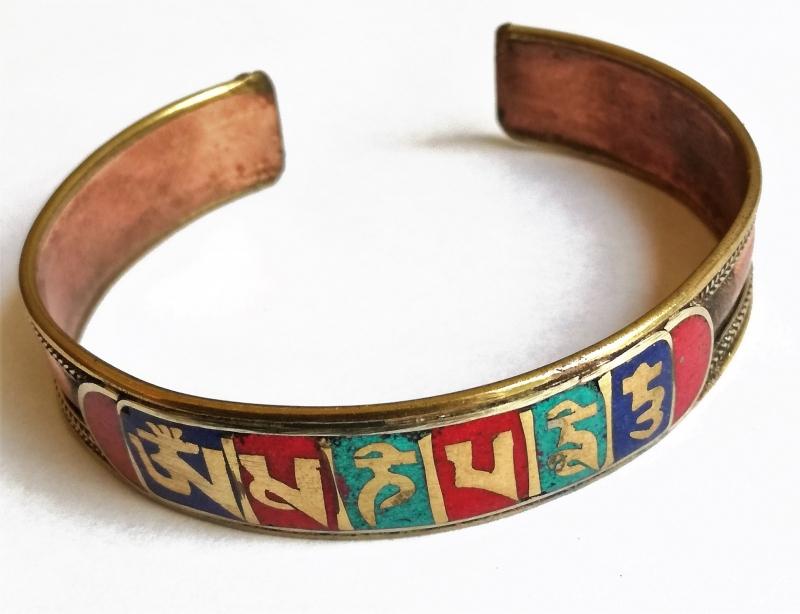 Tibetaanse armband OMPH