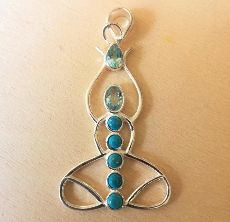 Chakra meditatie hanger