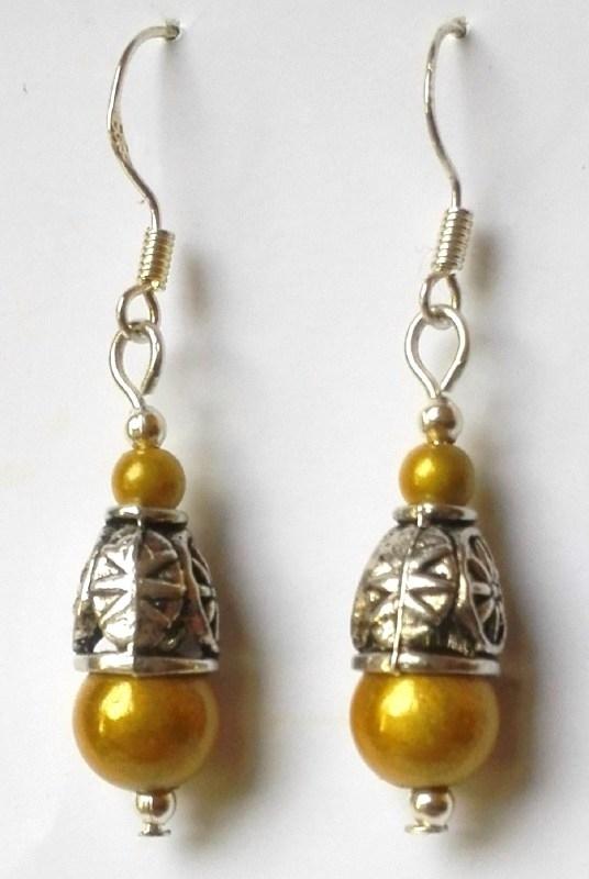 Tibetaans zilveren oorbellen