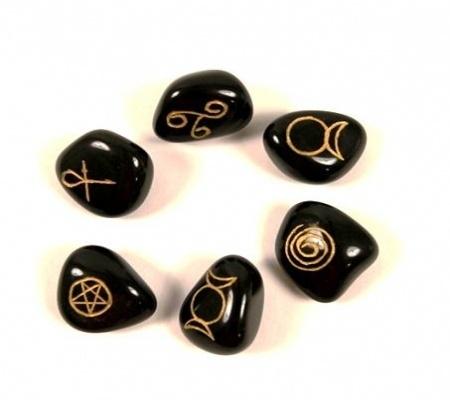 Wicca symbolen Agaat