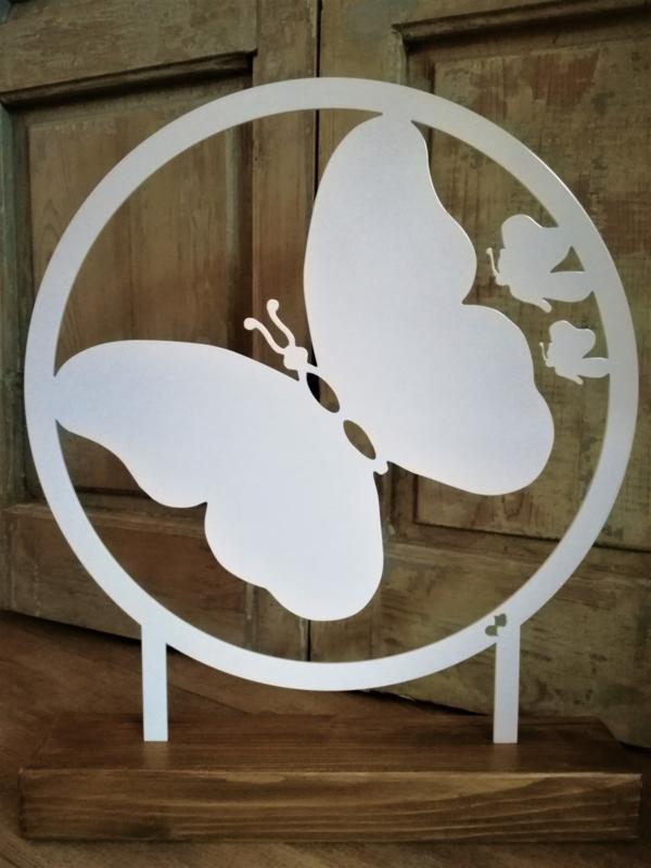Vlinder staande decoratie