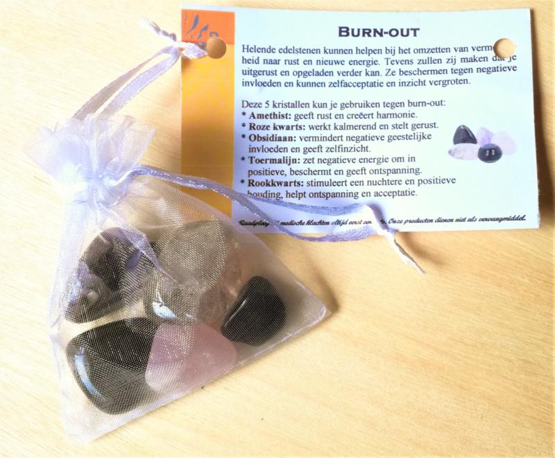 Burn-out edelsteen set