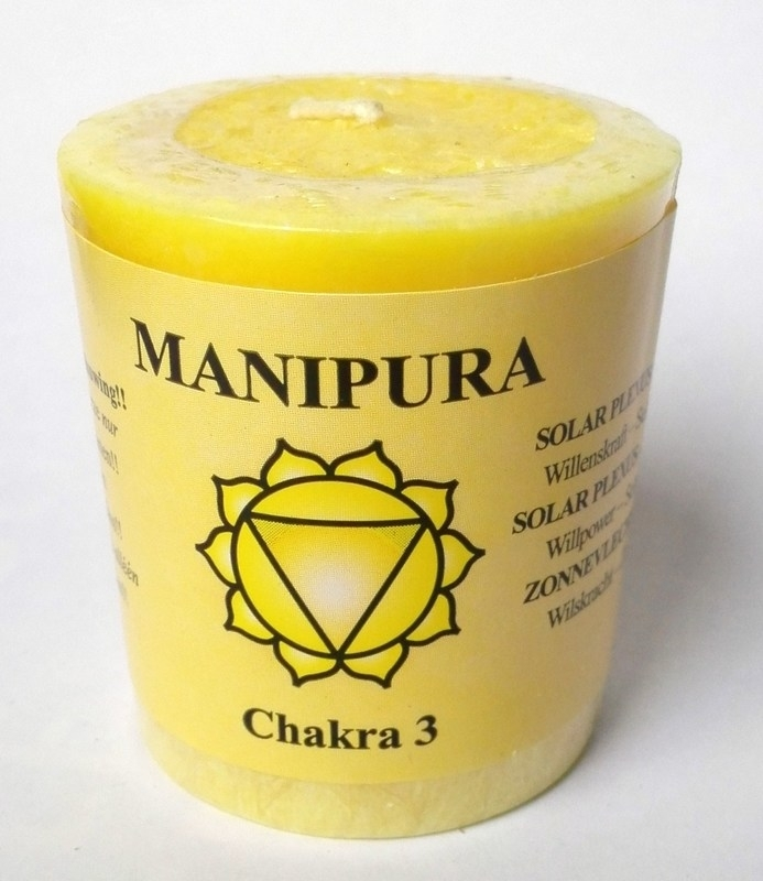 Bougie parfumée Chakra 3 votive