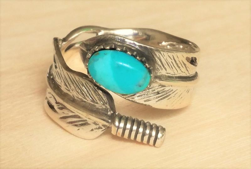 Ring Turkoois native american