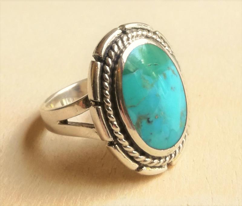 Ring Turkoois zilver