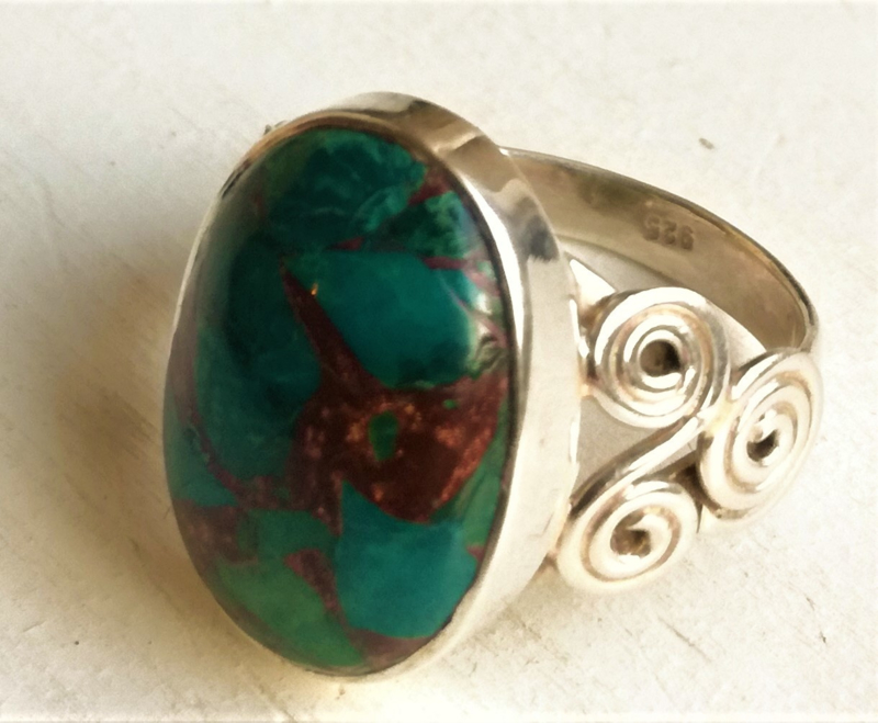 Ring Chrysocolla