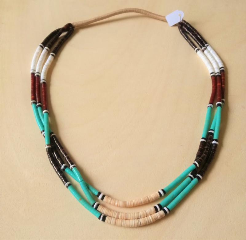 Indianen collier Zuni