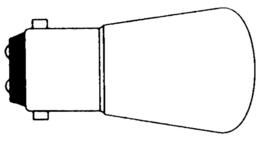 lamp 12V 15W BA 15D