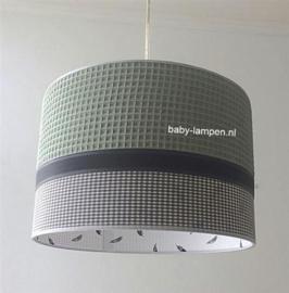kinderlamp wafelstof