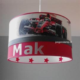 Raceauto lamp