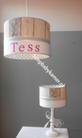 Klein lampenkapje zoals hanglamp