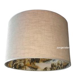 Junglelamp met olifanten