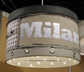 Stoere lamp Milan