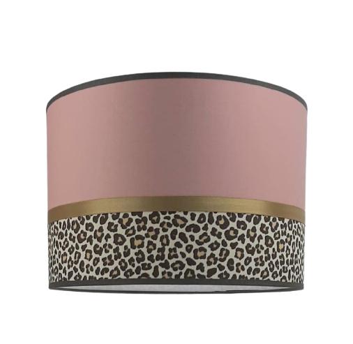 Lamp kinderkamer oud roze met tijgerprint