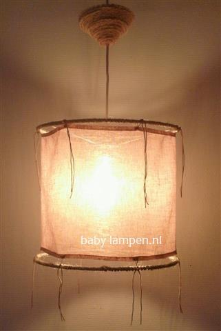 Ibizalamp oud roze