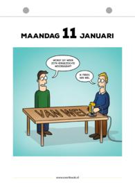 Evert Kwok Scheurkalender 2021 - vanaf 10 exemplaren