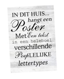 Posterpakket 3 posters (incl. verzending)