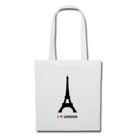 Tote bag I love London