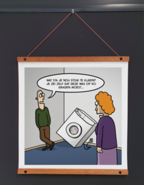 Art-poster '40 graden'