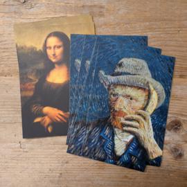 Vincent en Lisa - 10 kaarten