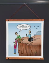 Art-poster 'Versterking'