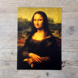 Mona Lisa met banaan