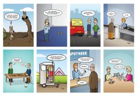 Kwok Postcardset