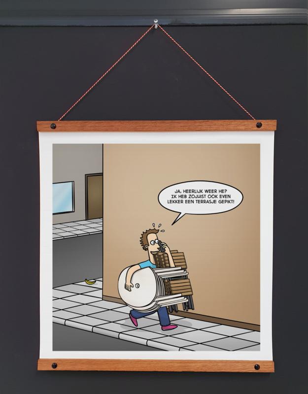 Art-poster 'Terrasje'