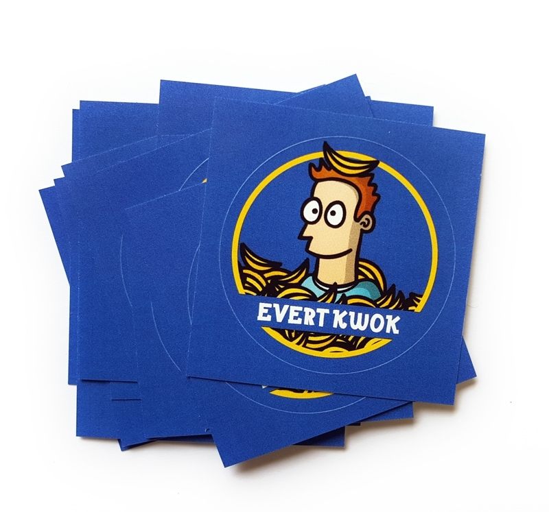 20 Evert Kwok stickers
