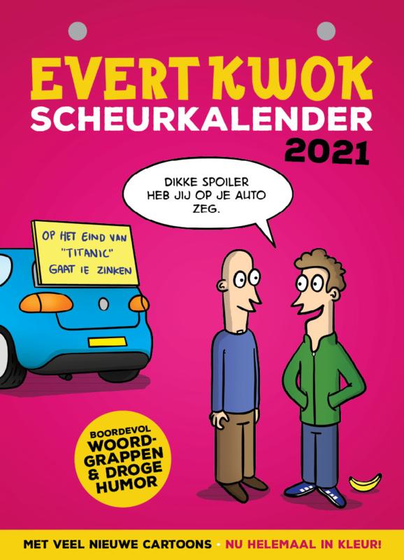 Evert Kwok Scheurkalender 2021