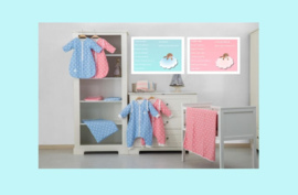 Afbeelding babykamer jongen blauw