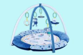 Mothercare blauw speelkleed jongen de ruimte
