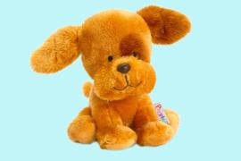 Keel Toys Pippins oranjebruine puppy 14 cm
