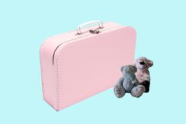 Koffertje zachtroze
