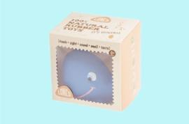 Lanco - Badspeelgoed Rubberen walvis blauw