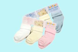 Soft Touch baby sokken 3 in 1 jongen en meisje