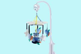 Mothercare muziekmobiel blauw de ruimte