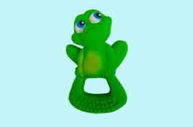 Lanco - Rubberen bijtring kikker