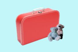 Koffertje rood