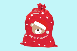 Kerstmis zak 'my 1st christmas'