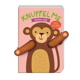 Vingerpop knuffelboek Kleine aap - Image Group Holland