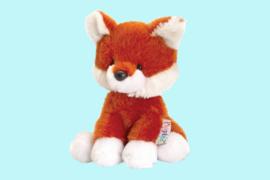 Keel Toys Pippins wit bruine vos 14 cm