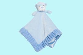 Aurora Baby knuffeldoekje beer blauw