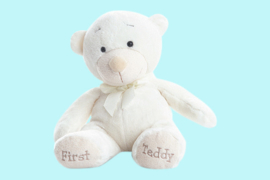 Aurora Baby witte beer First Teddy 30 cm