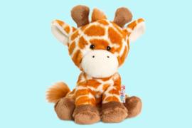 Keel Toys Pippins oranje bruine giraffe 14 cm