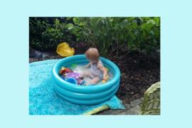 Buiten zwembadje voor peuters