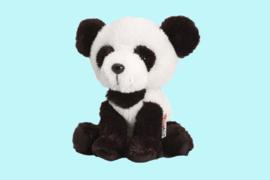 Keel Toys Pippins zwart wit pandabeer 14 cm