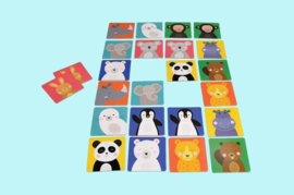 Rex London memory cards animals friends-memory kaarten met dierenvriendjes